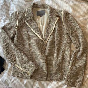 Fun weave & zipper jacket